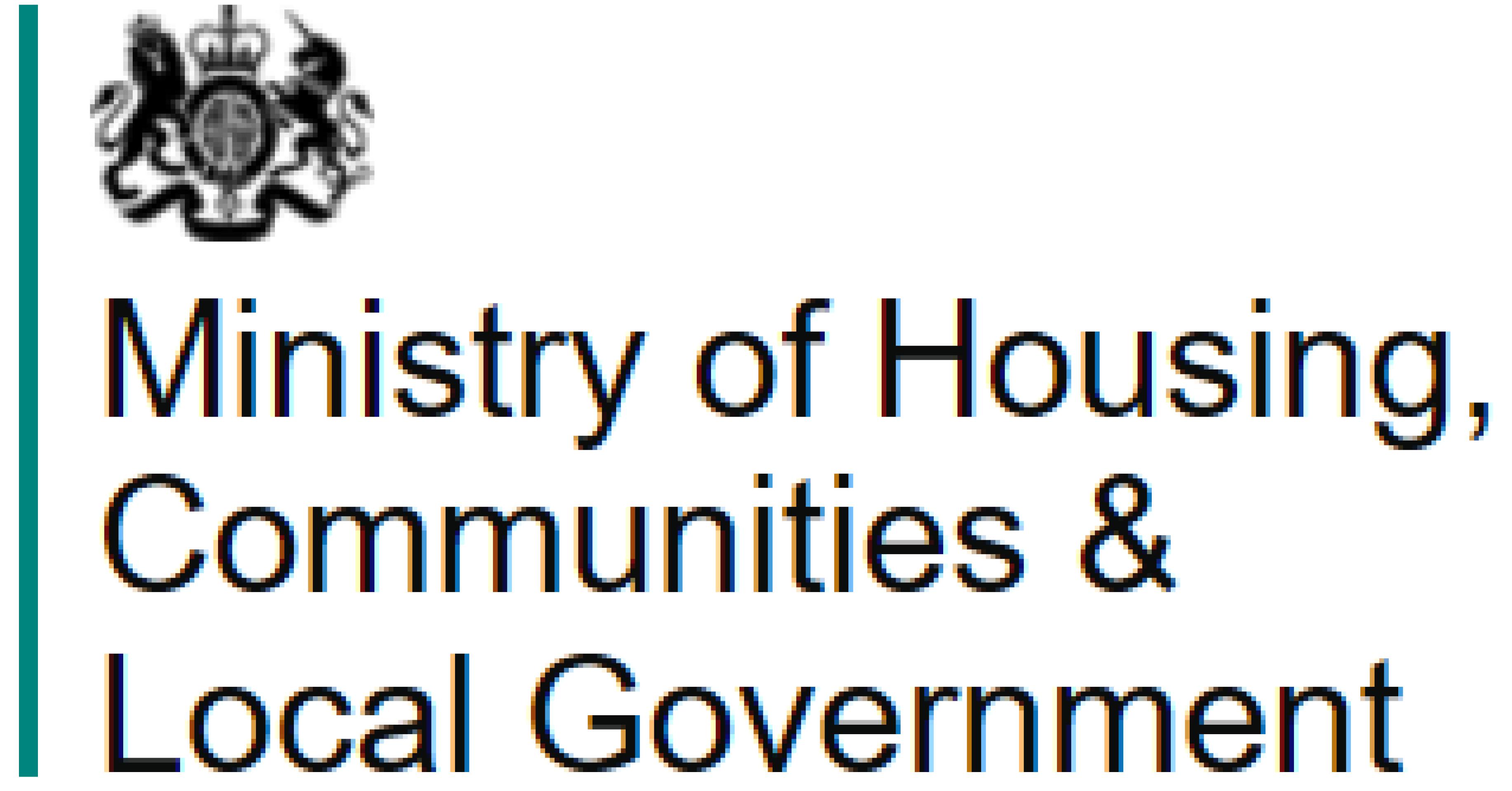 MHCLG Homes logo